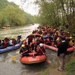 Tubing e rafting su fiume