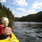 Kayaking on Brentwood Bay