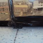 Otra ventana con cintas