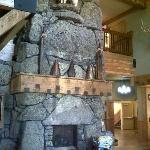 cheminée de l'hotel
