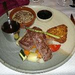 Reindeer steak