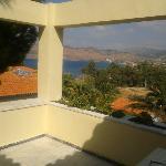 Aussicht vom Balkon Zimmer 310