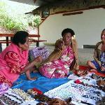 Fijian Nearby Village Women
