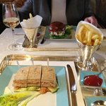 Club Sandwich at The Ritz