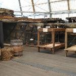 Try out the replica bunks and have a go at knot tying or even a game of quiots!
