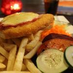 Chicken Parmigiana - couldn't eat it all