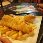 $10 fish and chips at Frasers on Rainbow Backpacker Resort