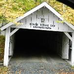 Their covered bridge (as the entrance to their inn)