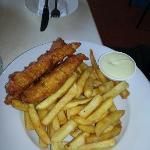 Lunch Fish and Chips
