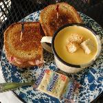 Rueben & Beer cheddar soup