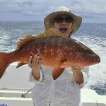 Catching a Red Snapper