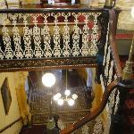 Inside stairway