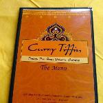 Curry Tiffin menu