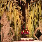 Balinese decorations for a party at Yudhistira
