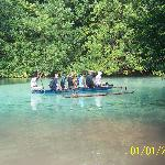 Canoe to Blue Hole