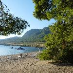 la plage de la pinède