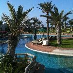 Une partie de la piscine