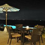 Lights of Bali at night