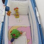 Millie's cot