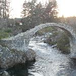 Historic bridge at Carrbridge