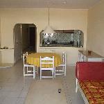 Inside living room/kitchen