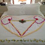 Small surprises from our housekeeper!!