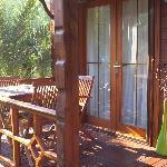 Terrace of Garden Bungalow