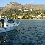 Mirthios above the port of Plakias