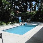 This was our private pool with pool boy!