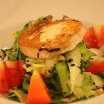 Delicious goats cheese salad!