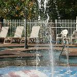 Pool Area Splash Zone