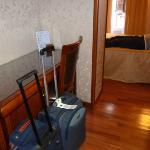 Corridor très pratique pour les valises