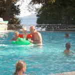 Zwembad ligt schitterend