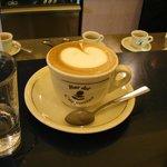 Luigi's creation, the best cappuccino in Rome!