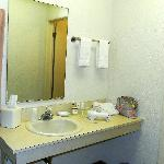 Sink area and some amenities included