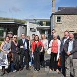 Staff and Visitors at the Blaenavon World Heritage Centre