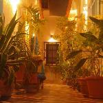 Corridorio di accesso alle camere