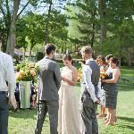 front lawn, ceremony