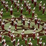 University of Alabama Marching Band with Mascot