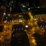 Observation Deck: the Rose Kennedy Greenway View at night