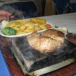ston steak at rio restaraunt