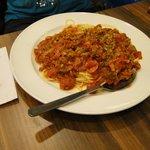 Spaghetti Bol, excellent value
