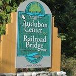 Entrance to Audubon Center