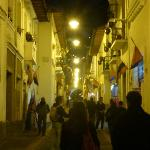 "Close to ""Calle Ronda"" with many restaurants and music!"