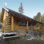 Photo taken 2/2012 outside Maluhia Log Cabin