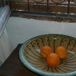 Fruit bowl in our room