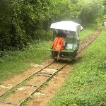 horse drawn rail carts