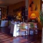 La Varangue Dining area