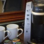 Keurig Coffee Makers in Every Guestroom