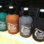 Insulated growlers to take home favorite